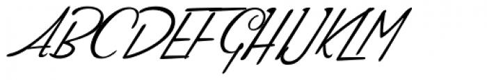 Compliments Regular Font UPPERCASE
