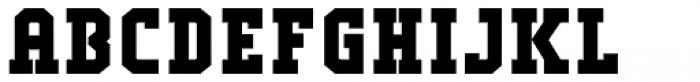 Comply Slab Black Font UPPERCASE