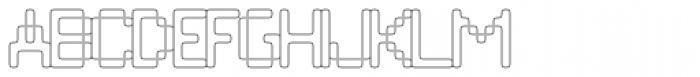 Compunabula Thin Font UPPERCASE