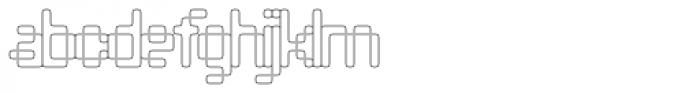 Compunabula Thin Font LOWERCASE