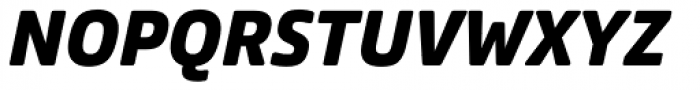 Comspot Black Italic Font UPPERCASE