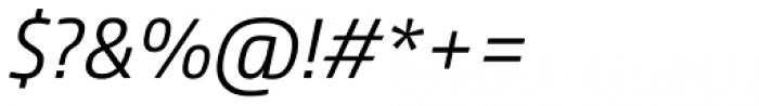 Comspot Light Italic Font OTHER CHARS