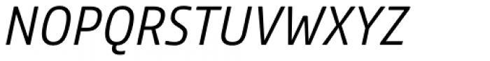 Comspot Light Italic Font UPPERCASE