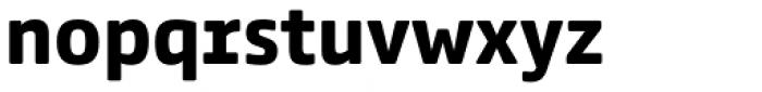 Comspot Tec Bold Font LOWERCASE