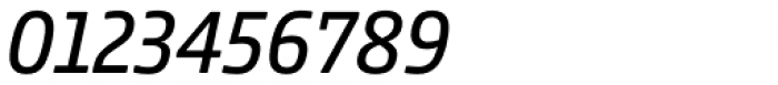 Comspot Tec Italic Font OTHER CHARS