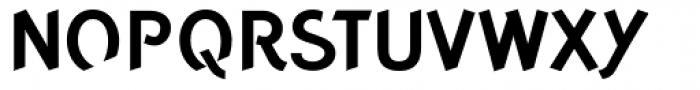 Concept Sans Bold Font UPPERCASE