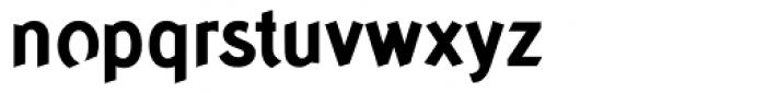 Concept Sans Bold Font LOWERCASE