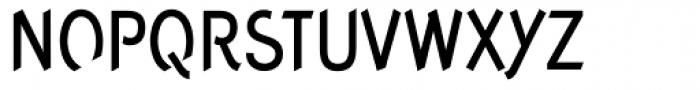 Concept Sans Condensed Medium Font UPPERCASE