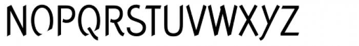 Concept Sans Condensed Regular Font UPPERCASE
