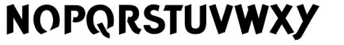Concept Sans ExtraBold Font UPPERCASE