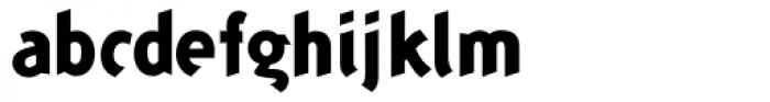 Concept Sans ExtraBold Font LOWERCASE