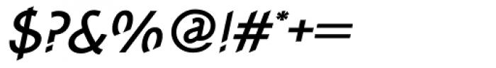 Concept Sans Medium Italic Font OTHER CHARS