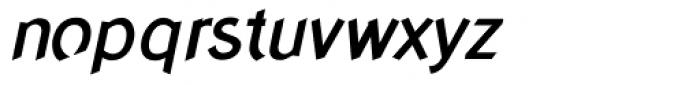 Concept Sans Medium Italic Font LOWERCASE