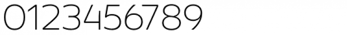 Concord Thin Font OTHER CHARS
