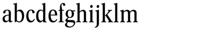 Concorde BE Condensed Font LOWERCASE