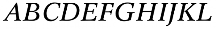 Concorde BE Italic Font UPPERCASE