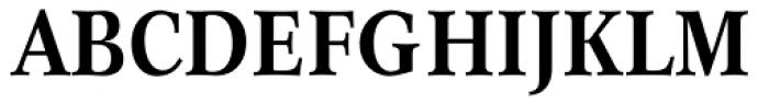 Concorde BE Medium Condensed Font UPPERCASE