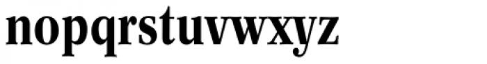 Concorde BE Medium Condensed Font LOWERCASE
