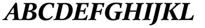 Concorde BE Medium Italic Font UPPERCASE