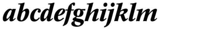 Concorde BE Medium Italic Font LOWERCASE