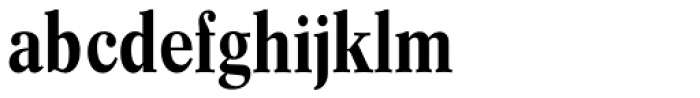 Concorde BQ Cond Med Font LOWERCASE