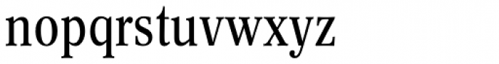 Concorde BQ Cond Reg Font LOWERCASE