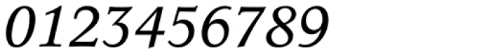 Concorde BQ Italic Font OTHER CHARS