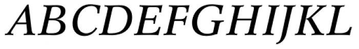 Concorde BQ Italic Font UPPERCASE