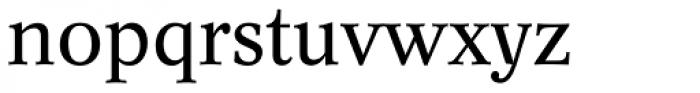 Concorde BQ Regular Font LOWERCASE