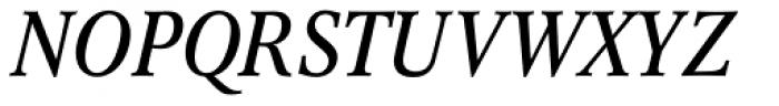 Concorde Nova Italic Font UPPERCASE