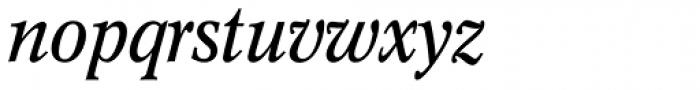 Concorde Nova Italic Font LOWERCASE