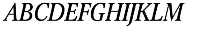 Concorde Nova Pro Italic Font UPPERCASE