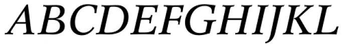 Concorde Pro Italic Font UPPERCASE