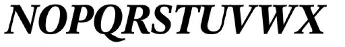 Concorde Pro Medium Italic Font UPPERCASE
