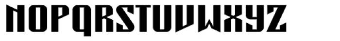 Concrete Regular Font UPPERCASE