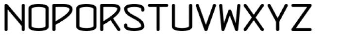 Concursico Mono BTN Font UPPERCASE