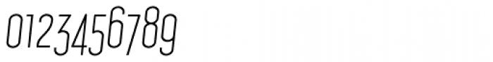 Concurso Italian BTN Light Oblique Font OTHER CHARS