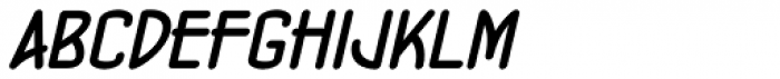 Concurso Moderne BTN Bold Oblique Font LOWERCASE