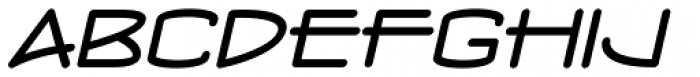 Concurso Moderne BTN Wide Oblique Font UPPERCASE