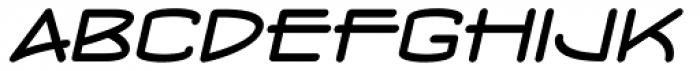 Concurso Moderne BTN Wide Oblique Font LOWERCASE