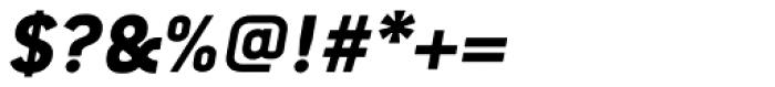 Conduit Pro ExtraBold Italic Font OTHER CHARS
