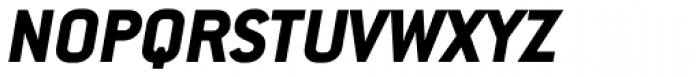 Conduit Pro ExtraBold Italic Font UPPERCASE