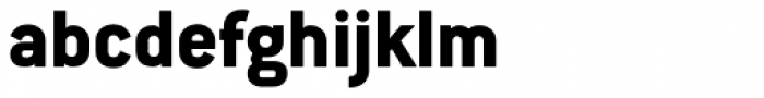 Conduit Std ExtraBold Font LOWERCASE