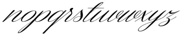 Coneria Script Slanted Light Font LOWERCASE