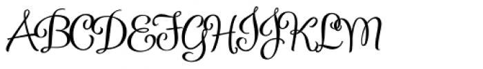 Confection Font UPPERCASE