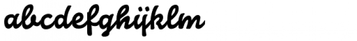 Confetti TP Bold Font LOWERCASE