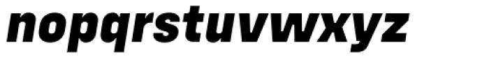 Config Alt Extra Bold Italic Font LOWERCASE