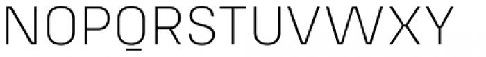 Config Alt Extra Light Font UPPERCASE