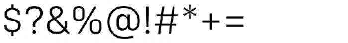 Config Alt Light Font OTHER CHARS