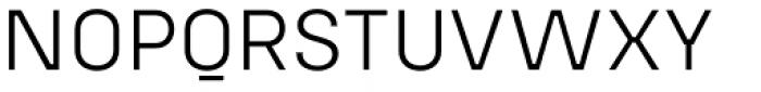 Config Alt Light Font UPPERCASE